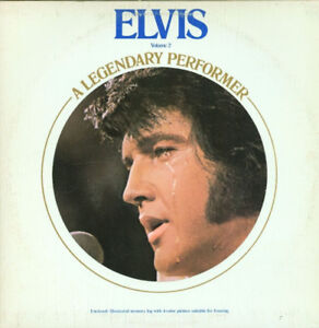 records vinyl LP 4 ELVIS PRESLEY- elvis a legendary performer