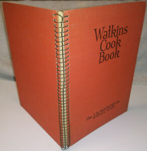 1936 Mint WATKINS Cookbook