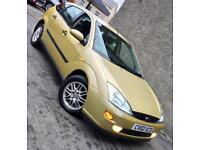 Ford Focus 16V Ghia 5Door**Very Clean Car,LONG MOT,Cambelt Done,ONLY £695!**