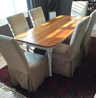 Amazing Deal! Beautiful Farmhouse dining set