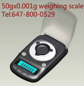 50gX0.001g professional digital weighing scale/precision balance