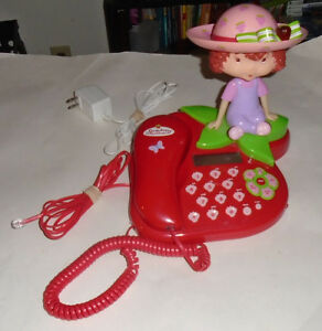 Vintage Great Shape Strawberry Shortcake Phone