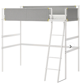 Ikea high sleeper bed and mattress Delivery available extra cost