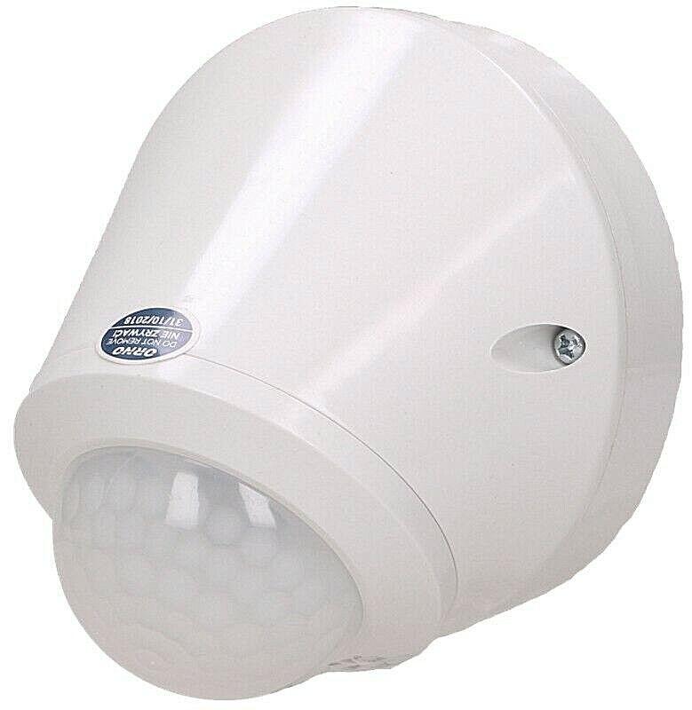 Bewegungsmelder Außen Bewegungs Melder Aufputz weiß schwarz 2-3-Draht LED
