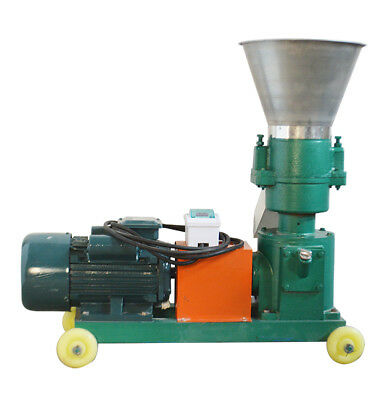 3mm Chicken Feed Pellet Mill Machine 220v 3kw For Small Birds 100-150kghour