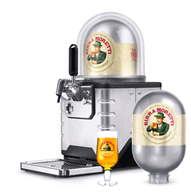 New Blade Birra Moretti Starter Pack, comes with 2x 8L kegs