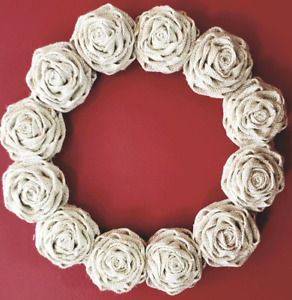 Handcrafted Rose Wreaths
