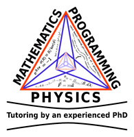 Tutoring by a PhD: math, physics, comp. science, $30 per hour
