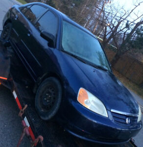 2002 Honda Civic Clean Sedan