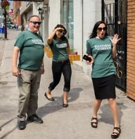 Volunteers for Random Acts of Green - Green Spotted Program