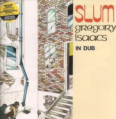 Gregory Isaacs(180 Gram Vinyl LP)Slum In Dub-Burning Sounds-BSRLP999-UK-M/M