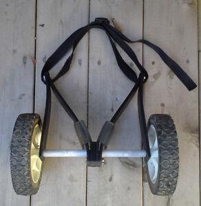 Chariot de remorquage à kayak ou canot