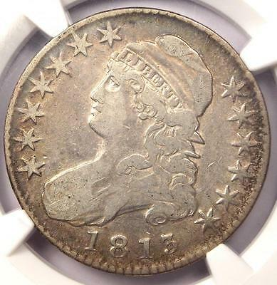 1813 CAPPED BUST HALF DOLLAR 50C   NGC VF DETAILS    CERTIFIED COIN