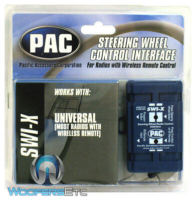 SWI-X PAC CAR AUDIO STEERING WHEEL CONTROL INTERFACE UNIVERSAL STEREO NEW -