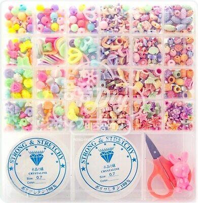 Pink Princess Pongfongbiz Crafts 24-compartment DIY Set A02 Pastel line urethane