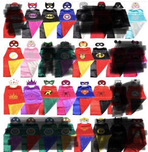 Cape and mask sets