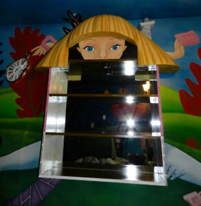 Huge Custom Disney AliceInWonderland Cabinet You GOTTA See This!
