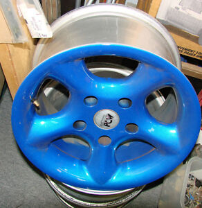 """Mr. Gasket Air Cleaner/15"""" Chevy Van mag wheels/ other HIPO part North Shore Greater Vancouver Area image 4"""