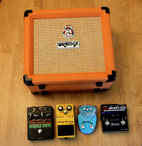 Guitar Pedals and Amp