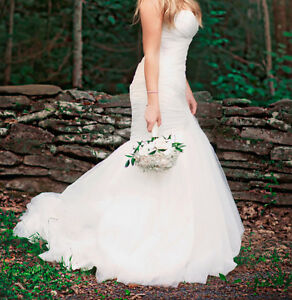 Mermaid, corset wedding dress