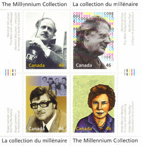 Canada Stamps - The Millennium Collection - Canada's Great Think West Island Greater Montréal image 1
