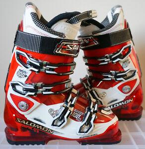 Salomon Impact 100 CS Ski Boots / Bottes de Ski / 25-25.5 / 297