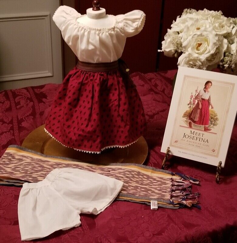 1997 Pleasant Company Meet Josefina Outfit With 1st Edition Book - $39.95