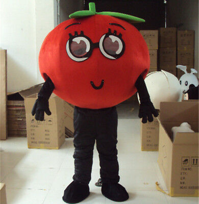 Advertising Costume Suit Adult Store Dress Party Parade Tomato Vegetables - Adult Party Store