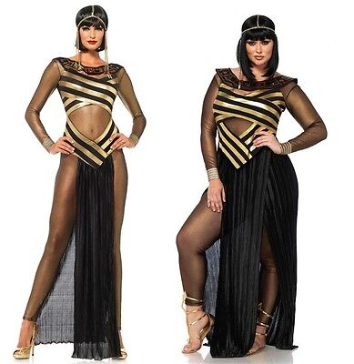 Adult size Goddess Isis Costume - Queen of the Nile - 4 sizes Cleopatra fnt ()