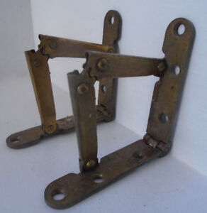 Brass Lid Support Hinges