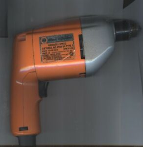 """Black & Decker Variable Speed 3/8"""" Drill - corded"""
