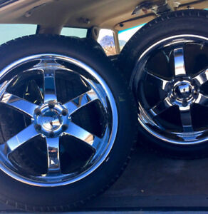 20 inch Boss 330 wheels - $350 OBO