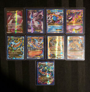 Pokemon Cards - Ultra Rare - Holographic - Full Art - Mega - EX