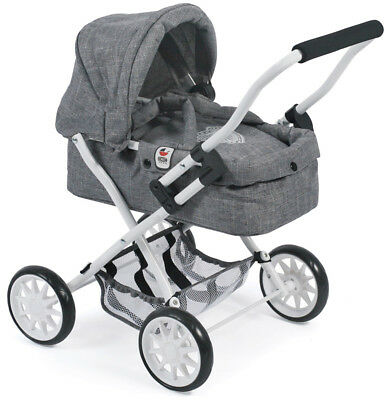 Bayer Chic 2000 Mein erster Puppenwagen Smarty (Jeans Grey)