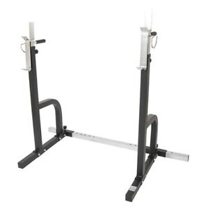 ADJUSTABLE SQUAT RACK @ Orbit Fitness Mandurah