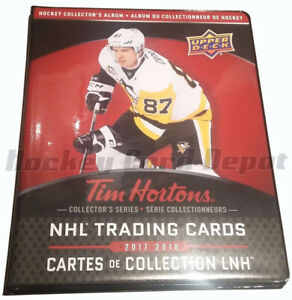 Tim Hortons Collectable Hockey Card Binders and Cards