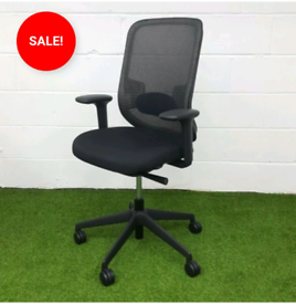 ORANGEBOX MESH LUMBAR SUPPORT OFFICE CHAIRS USED OFFICE FURNITURE