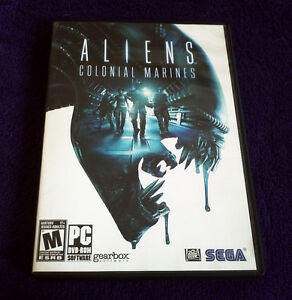 Aliens Colonial Marines PC DVD