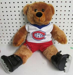 MONTREAL CANADIENS HOCKEY PLUSH BEAR