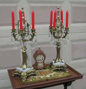 Classy Vintage Candelabra (matching Pair)