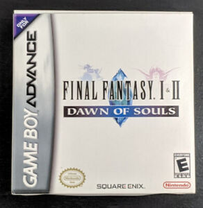 Final Fantasy I & II: Dawn Of Souls (GBA) | Excellent condition