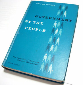 Government by the People (hardcover textbook, 1961)