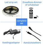 Ledstrips Koud Wit - complete sets & losse led strips