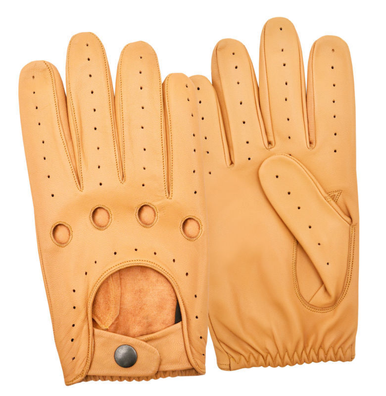 100/%  polyester, Mark and Spencer gloves Beige colour Size S-M