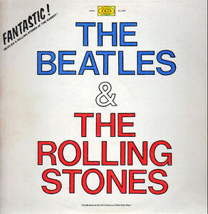 "RARE ""The Beatles & The Rolling Stones"" Album"