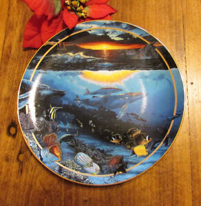 "1996 ""Diamond Head Dawn"" by Lassen, Collector's Plate #3 Kitchener / Waterloo Kitchener Area image 4"