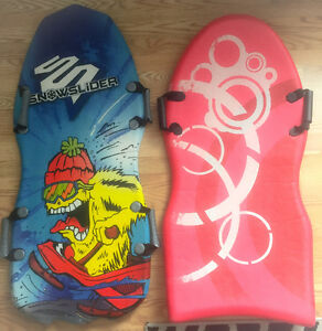 **TWO KIDS WINTER SLIDES FOR SALE**