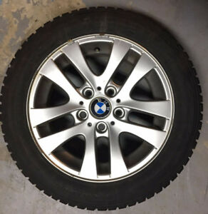 Winter Tires With Rims - 205/55/R16