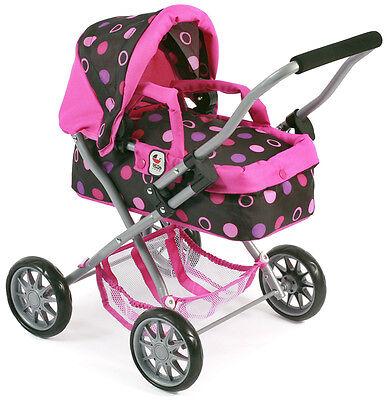 Bayer Chic 2000 Mein erster Puppenwagen Smarty pink Balls dots für Kinder Trage
