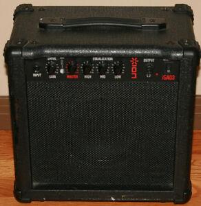 Various Electric Guitar Amplifiers